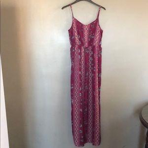 Pink Rose Vintage • Maxi Dress